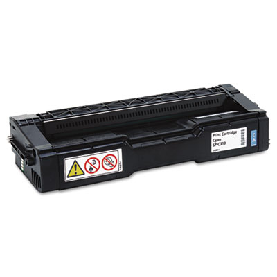406476 High-Yield Toner, 6000 Page-Yield, Cyan