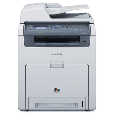 CLX-6250FX Multifunction Laser Printer with Copy/Fax/Print/Scan
