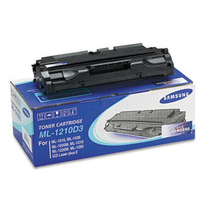 ML1210D3 Toner/Drum, 2500 Page-Yield, Black