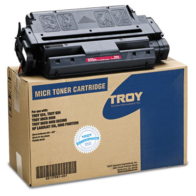 0217981001 Compatible MICR Toner Secure, 18,000 Page-Yield, Black