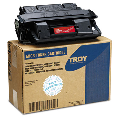 0218791001 Compatible MICR Toner Secure, 6,000 Page-Yield, Black