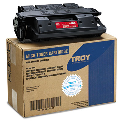 0218944001 Compatible MICR High-Yield Toner Secure, 10,000 Page-Yield, Black